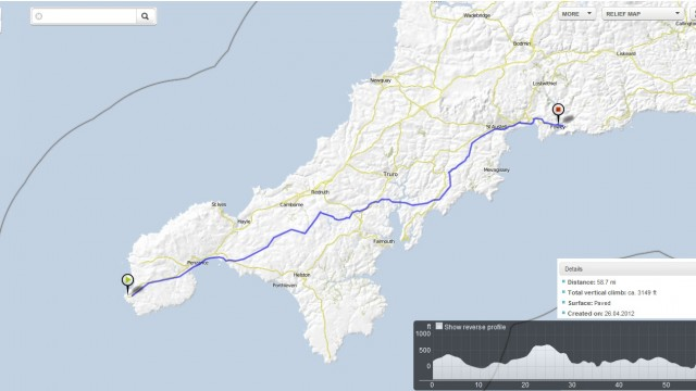 Day 1: Sat 9 June 2012 Lands End to Fowey
