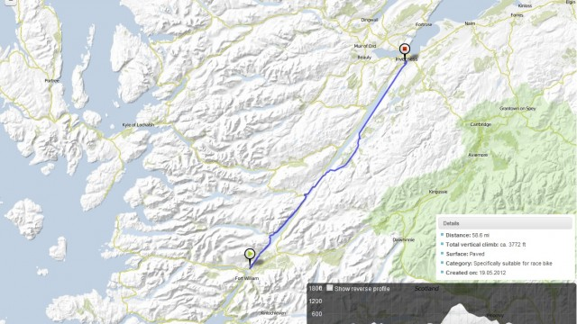 Day 11: Tue 19 June 2012 Fort William to Inverness