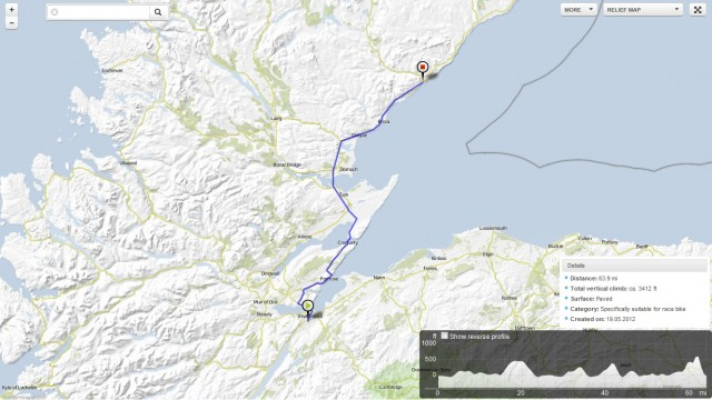 Day 12: Wed 20 June 2012 Inverness to Helmsdale
