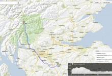 Day 9: Sun 17 June 2012 Lanark to Ardlui or Inveraran