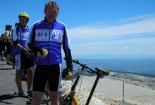 "The last ""Adventure"" Up Mt Ventoux on a 05 Speed Pro"